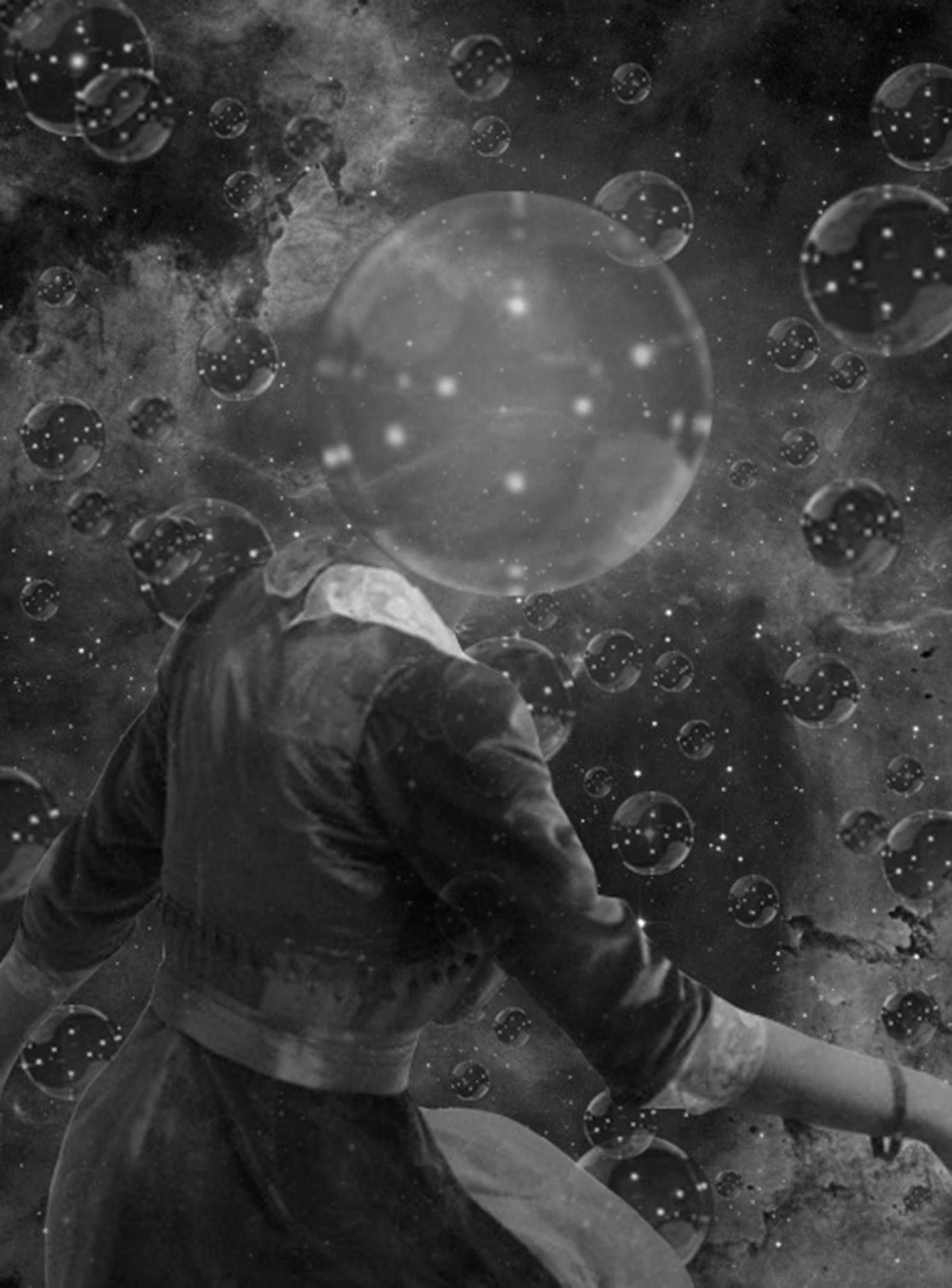 BUBBLE UNIVERSE BY JULIA LILLARD Art, Surreal art, Bubbles