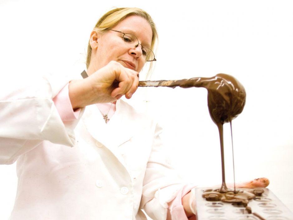 Bigger sweeter chocolate shop sweet chocolate