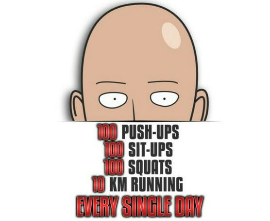 One-Punch Man Challenge | One punch man workout, One punch ...