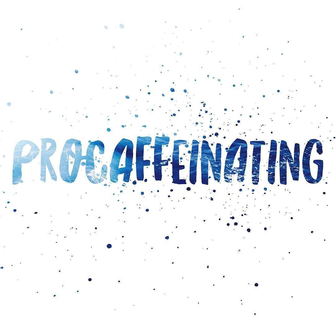 MORNING ROUTINE  --- Do you procaffeinate ?  the art of not giving a fuck about anything before coffee --- I love my  I can't go a day without it especially before my workout --- What gives you that morning boost ?
