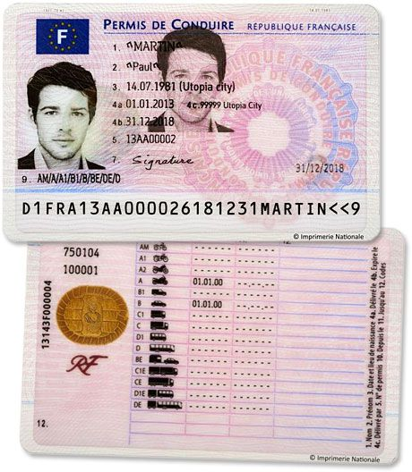 French Drivers To Get Multi Functional Nfc Licenses Nfcw Drivers License Passport Online Licensing