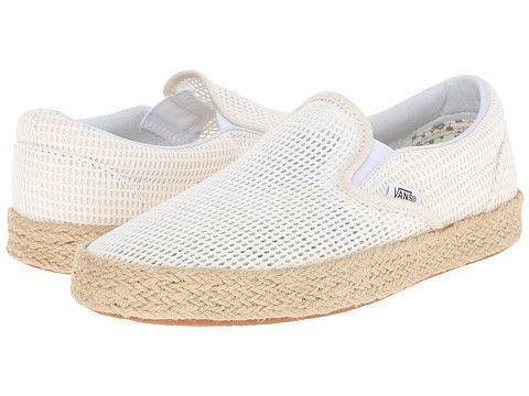 3170a1f06be VANS Mesh Classic Slip-On Espadrille Women