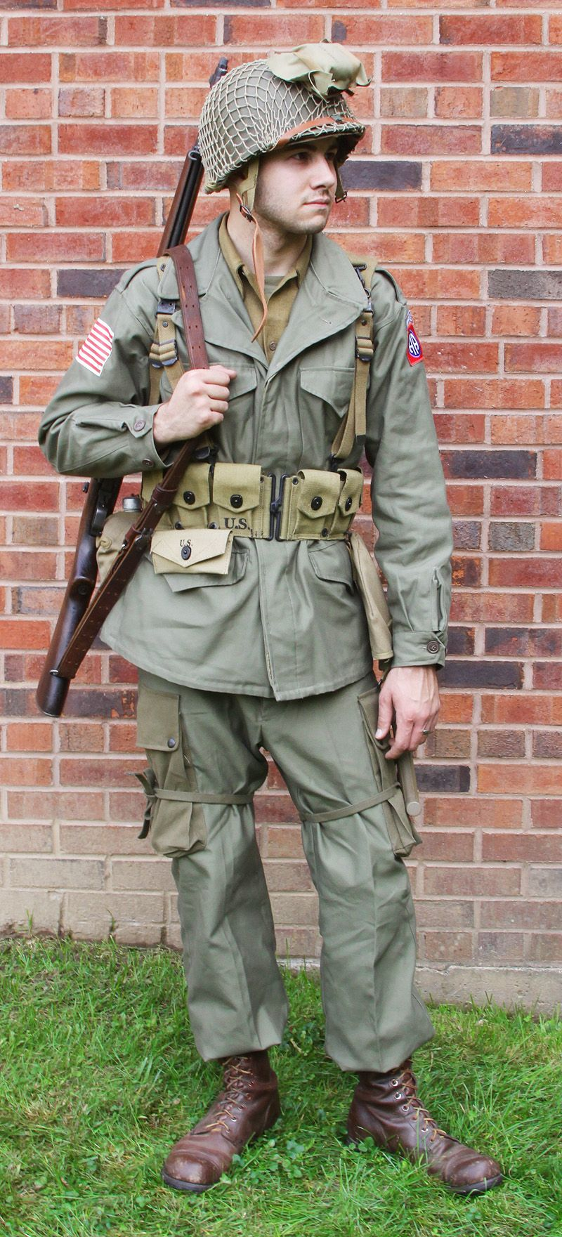 Image result for m-1943 combat field uniform | U.S ... - photo #50