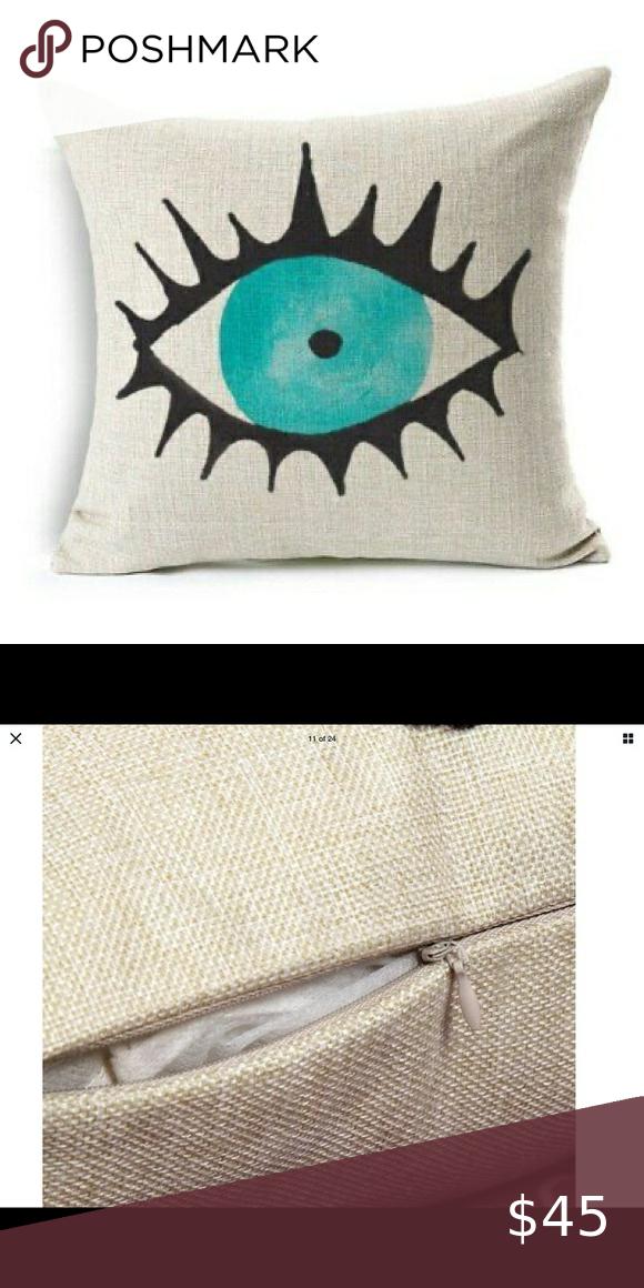 Evil Eye pillow case Just arrived