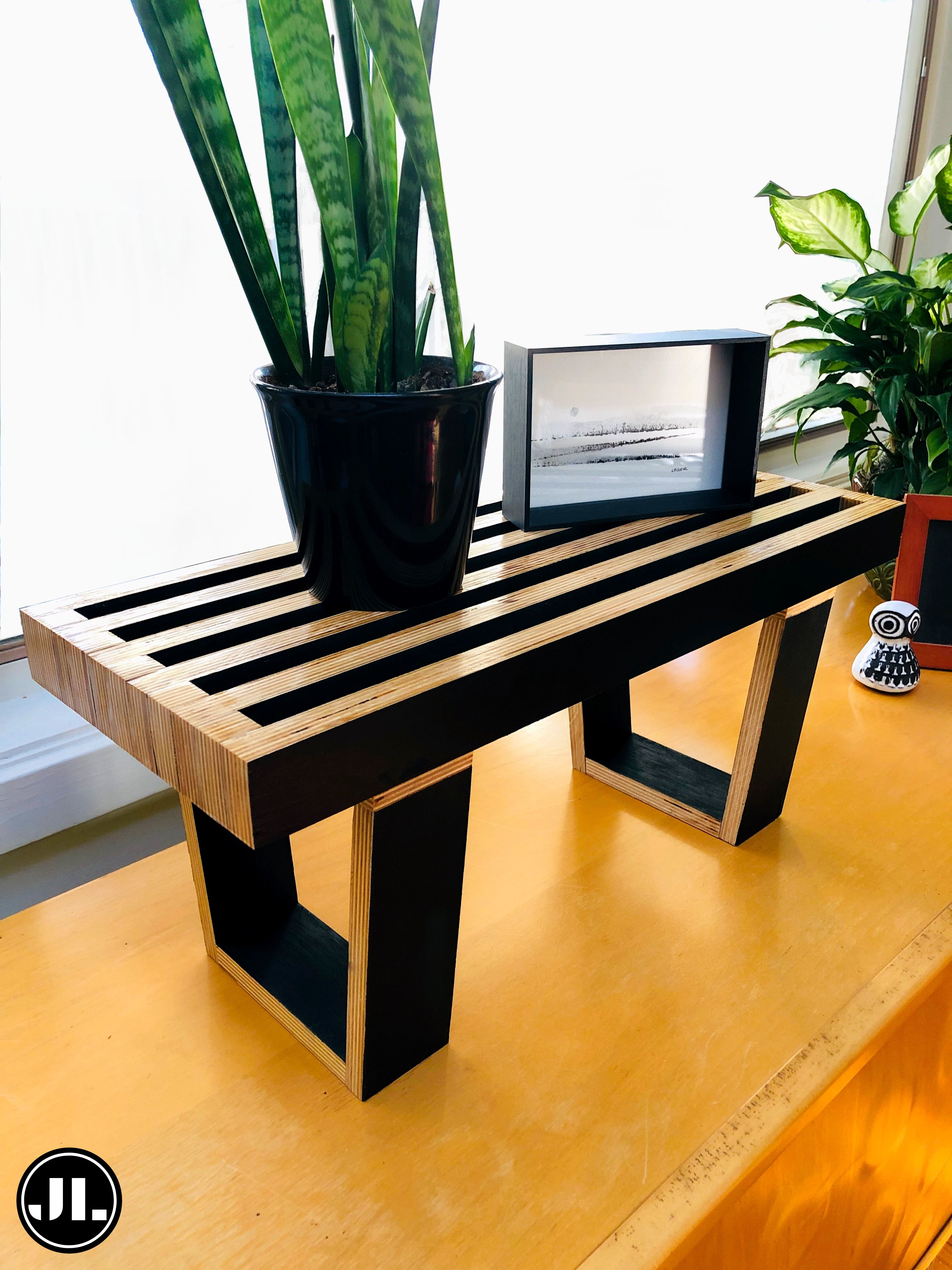 Magnificent Succulent Slat Bench Custom Sizes Available On Etsy Bench Caraccident5 Cool Chair Designs And Ideas Caraccident5Info