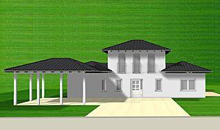 Einfamilienhaus neubau mit erker  Atrium Bungalow 15 130 / 16 Variante 2 Grundriss mit Erker und ...