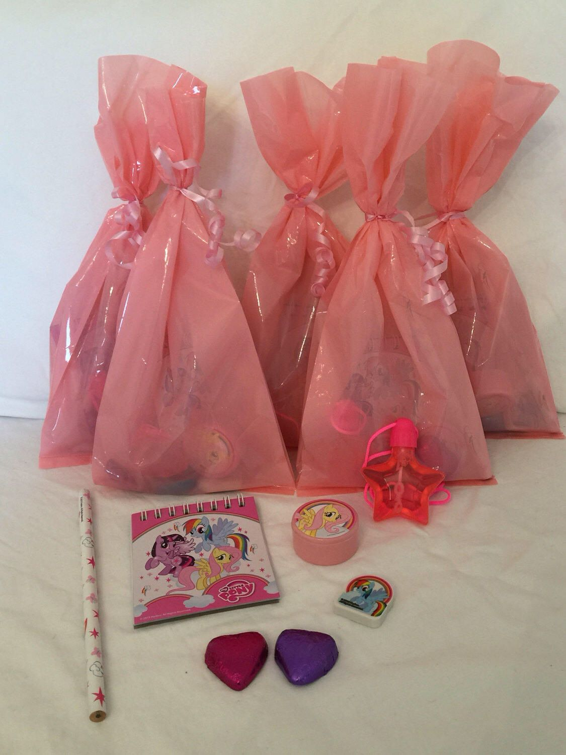 My Little Pony Pre Filled Party Bags With Stationary Set