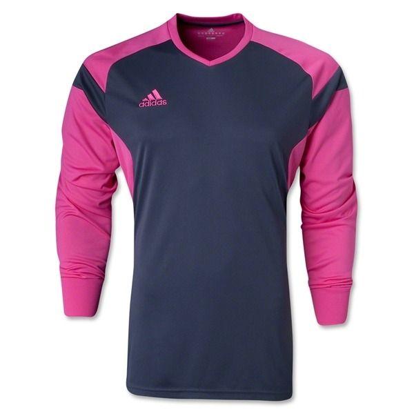488ea7fa8 adidas Precio 14 Grey/Pink Soccer Goalkeeper Jersey - model F50683 - Only  $31.49