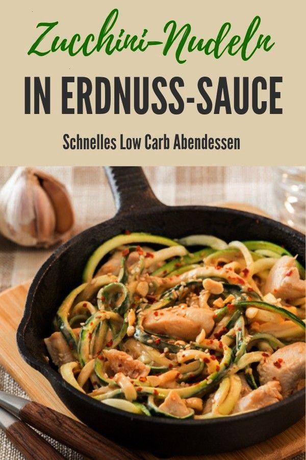 Erdnuss-Chili-SauceZucchininudeln in Erdnuss-Chili-Sauce Zoodels mit Avocado Pesto Mrs Flury Somme