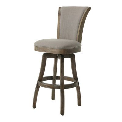 Pastel Furniture Glenwood Swivel Bar Stool With Cushion