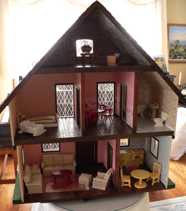 Unfinished Swiss Chalet Dollhouse Google Search To Show Room Placement Best Doll House Doll House Plans Doll House
