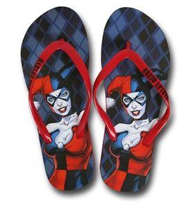 6d211e1704c Harley Quinn Image Women s Flip Flops