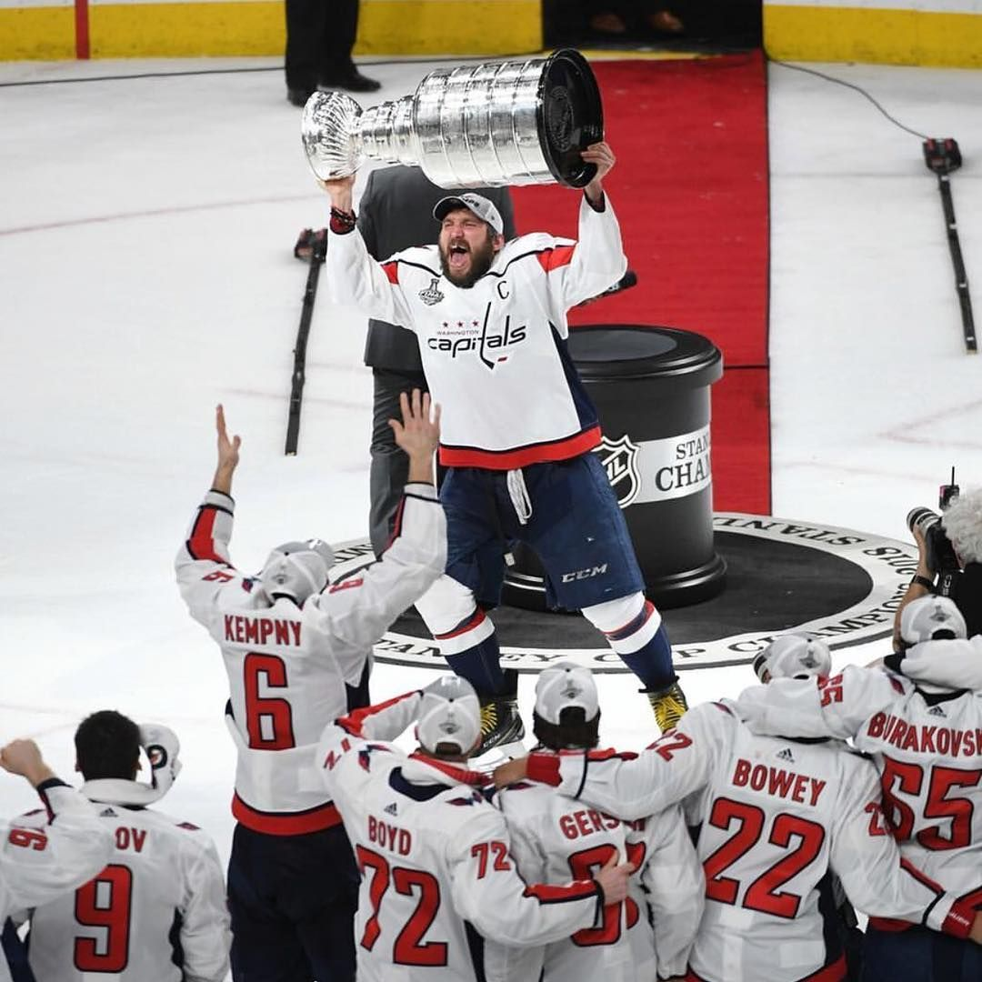 d30c11414 The Washington Capitals have won the Stanley Cup!! Washington  capitals  left wing Alex