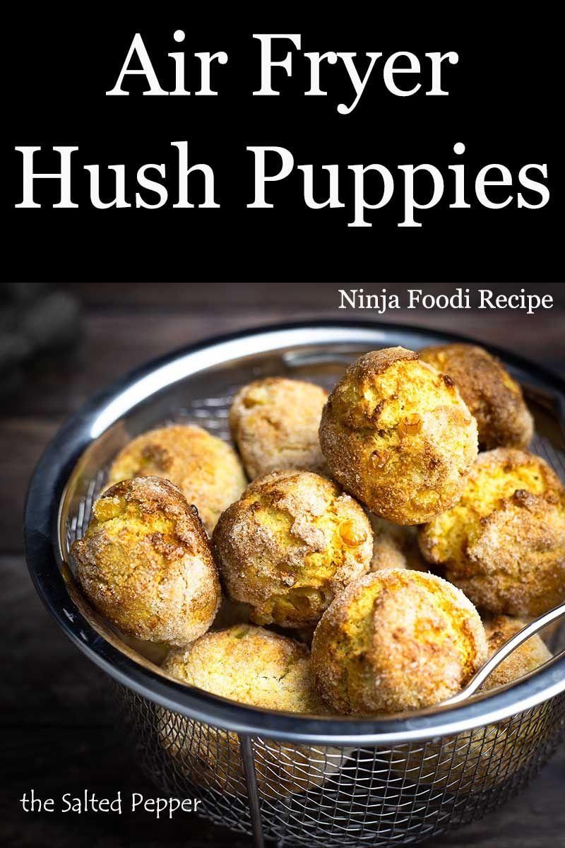 Air Fryer Hush Puppies Recipe Air Fryer Recipes Easy Air Fryer Recipes Food Recipes