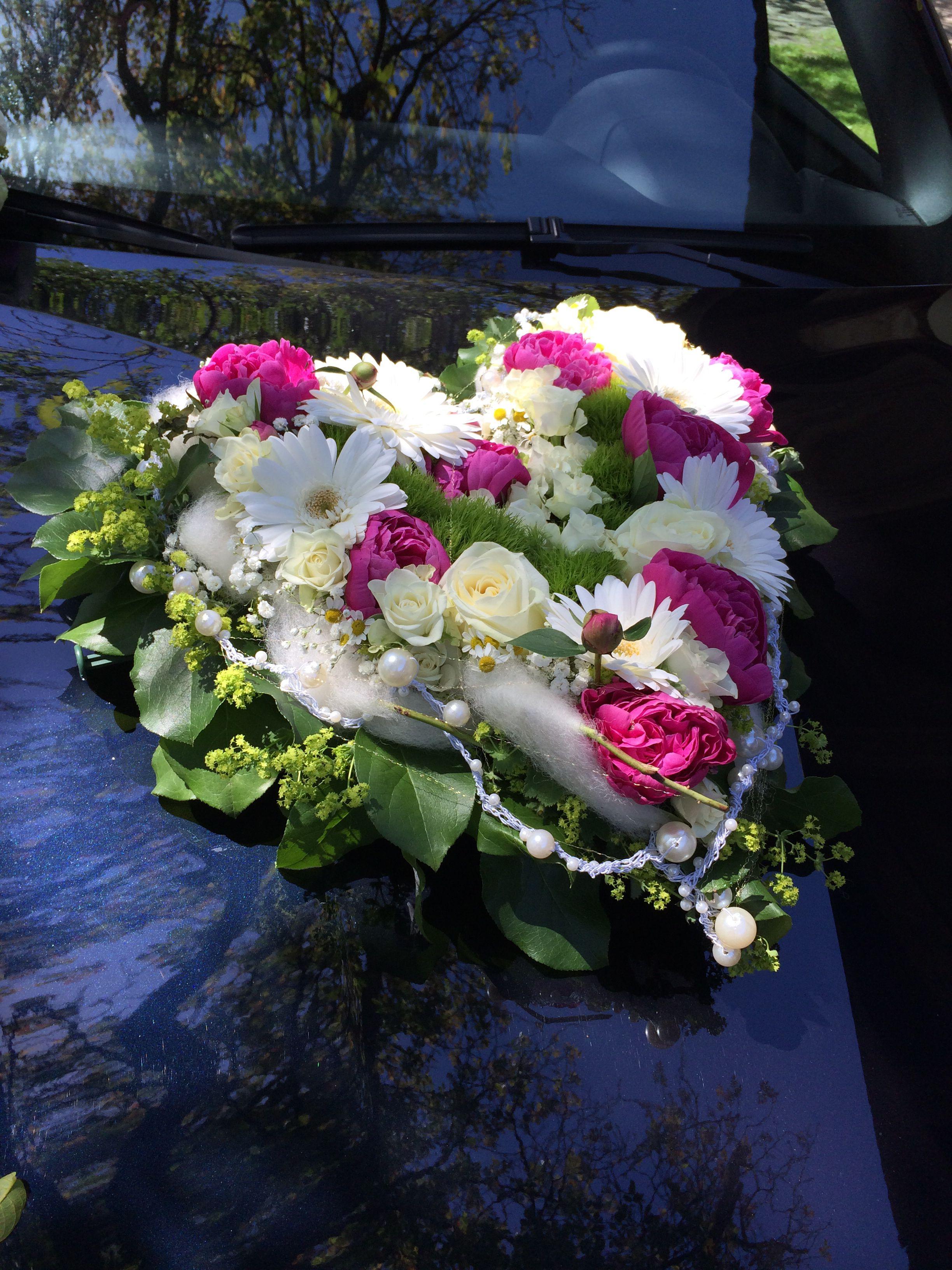 Autoschmuck Hochzeit Something Boda Ramos Und Flores