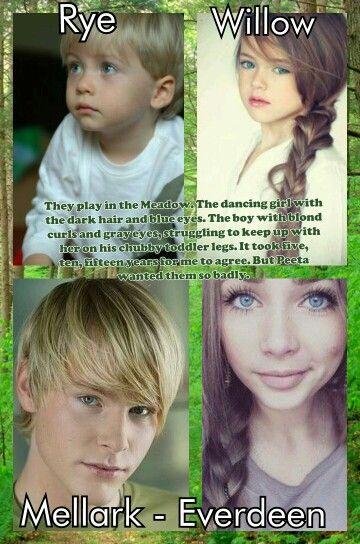 peeta and katniss kidswarning spoilers mockingjay