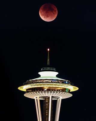 red moon january 2019 seattle - photo #23