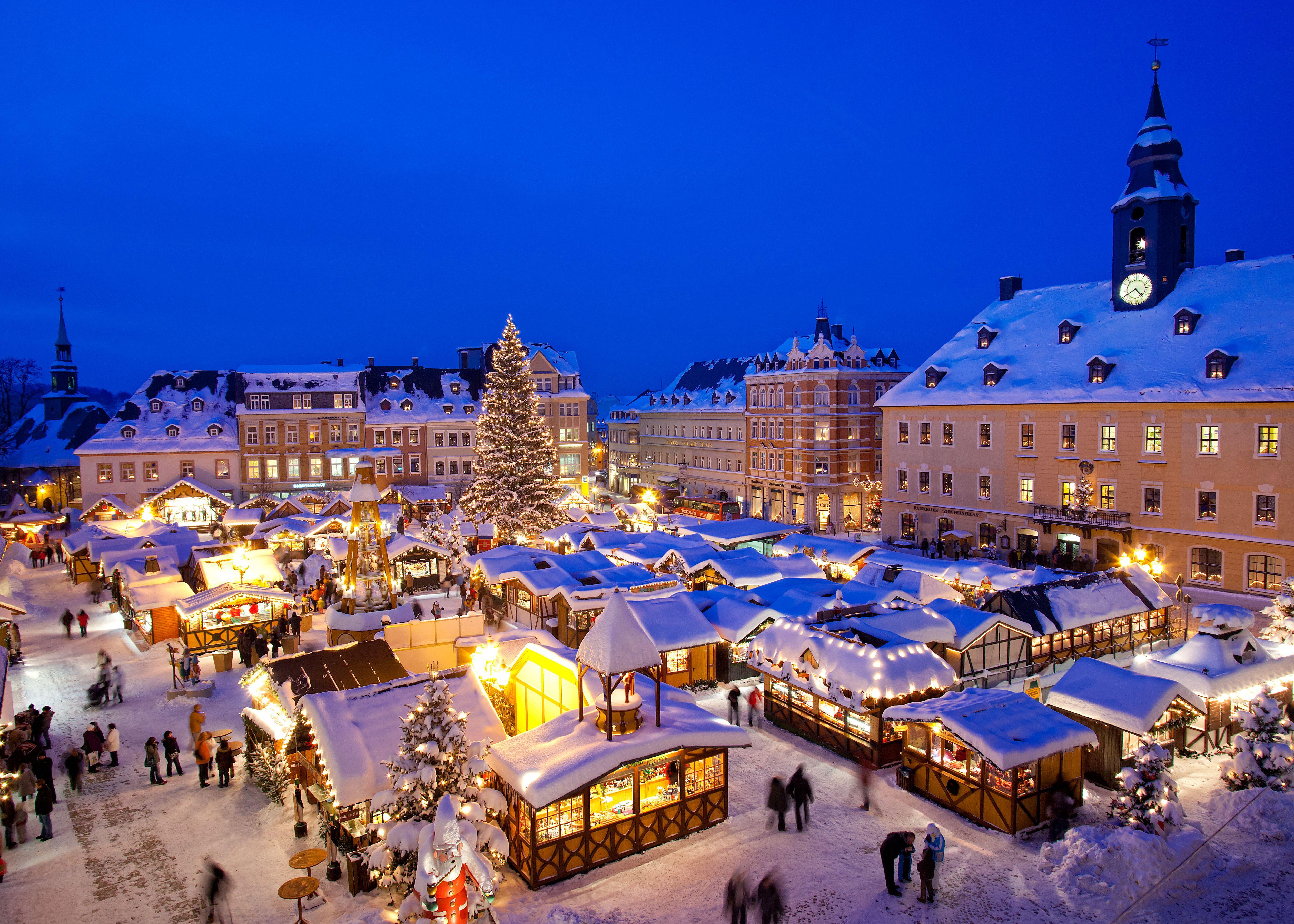 weihnachtsmarkt in annaberg im erzgebirge christmas. Black Bedroom Furniture Sets. Home Design Ideas