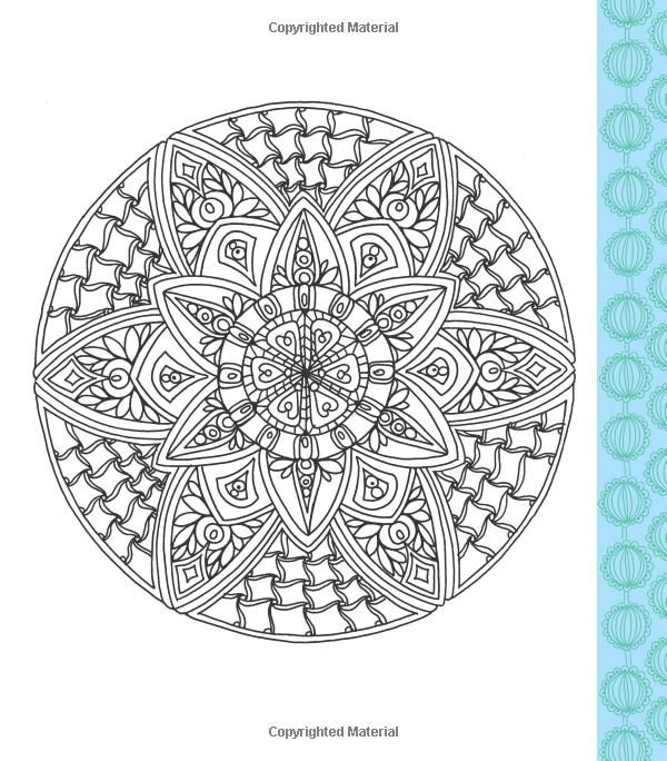 Robot Check Stress Free Coloring Book Mandala Coloring Pages Coloring Books