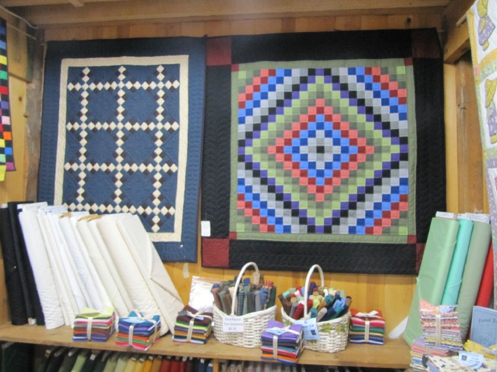 From an Amish Quilt Shop, Holmes County. Been here, Quilts are breathtaking!