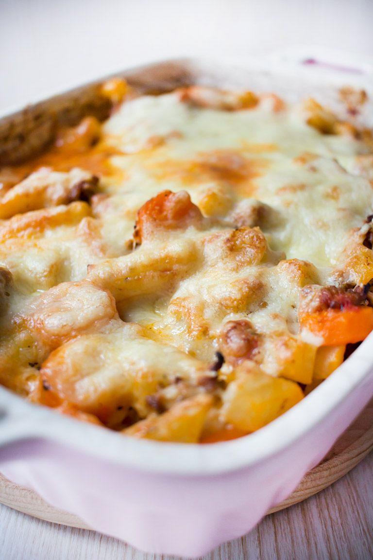 Photo of Low carb kohlrabi and carrot mince casserole