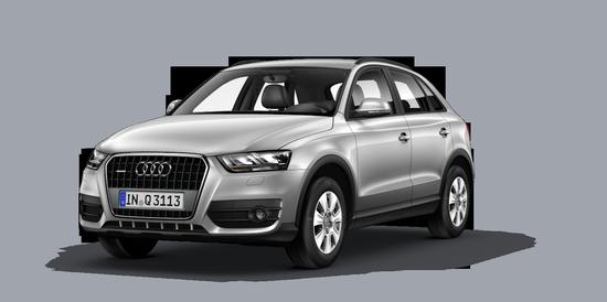 360° views > Q3 > Audi Ireland