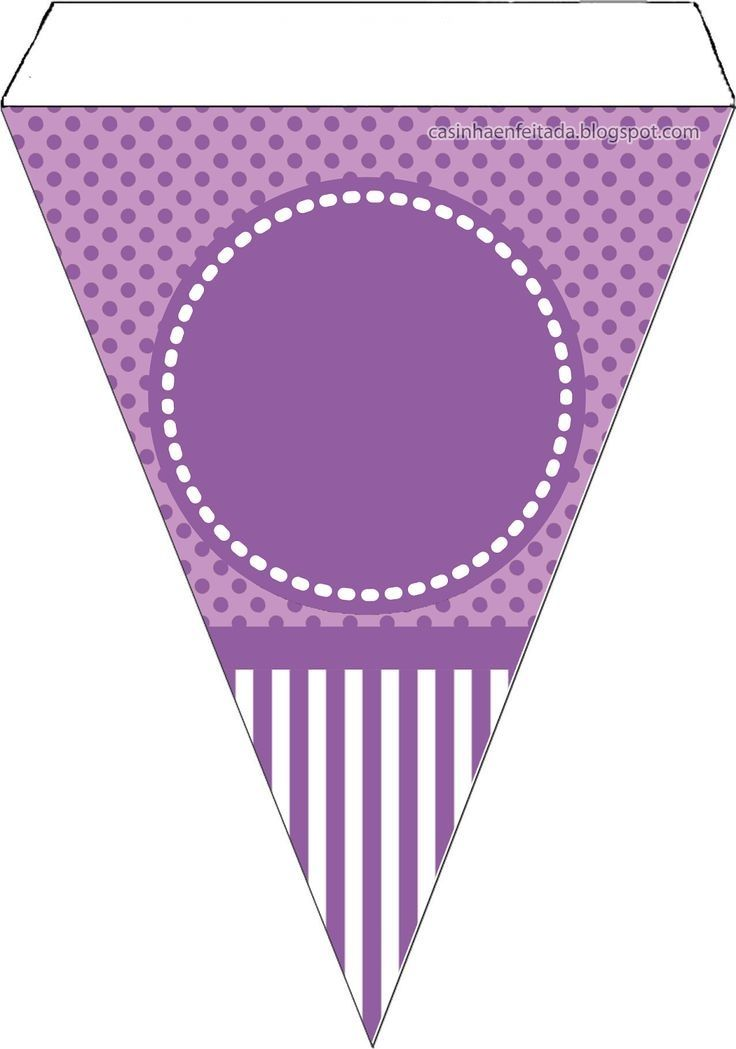 Purple SOFIA Pinterest Birthday Party And Banner