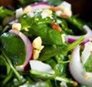 Spinach Salad | Ideal Protein Recipe | Ideally You #idealproteinrecipesphase1dinner