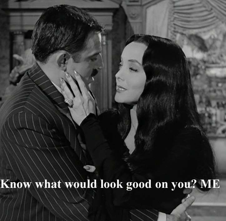 Madam Addams in 2020 | Addams family quotes, Addams family