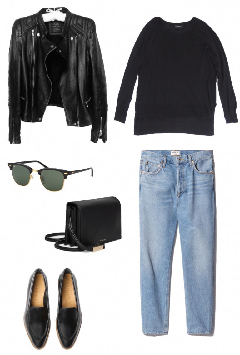 My Basic Year-Round Capsule Wardrobe - Emily Lightly // ethical style, sustainable style, slow fashion