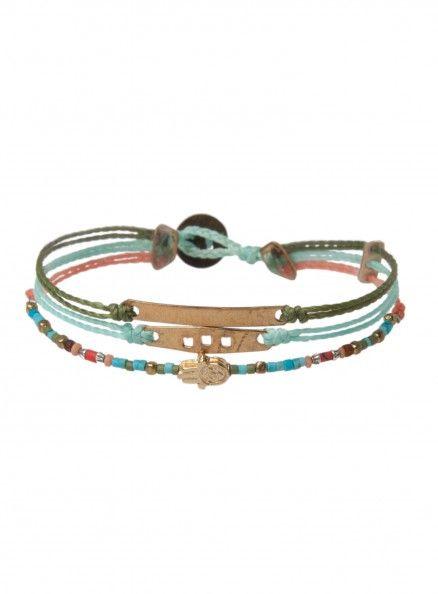 Mia Triple Strand Bracelet