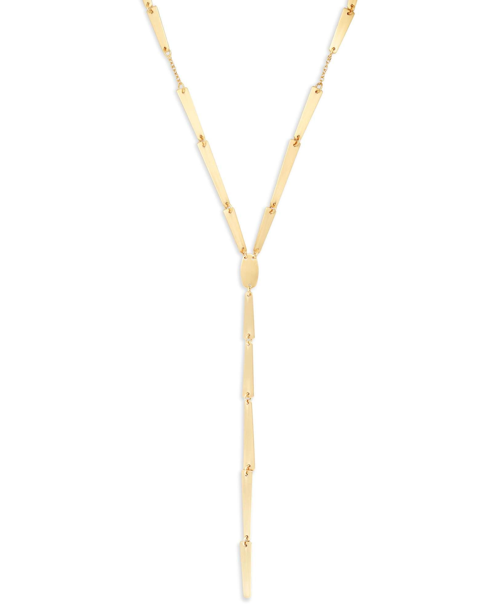 Kendra scott gail necklace in gold products