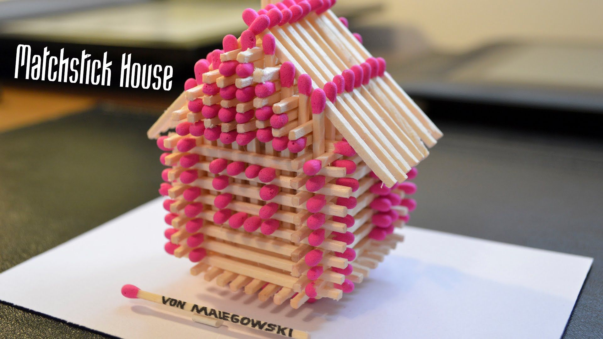 Diy How To Make A House Using Ice Sticks Popsicle