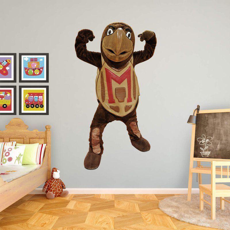 Fathead NCAA Maryland Terrapins Testudo Mascot Wall Decal - 61-61747