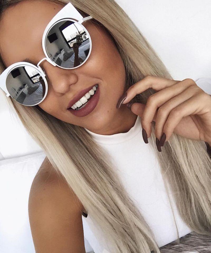 8e87fc199a1 Que tal brilhar no almoço de  Páscoa com o novo  Fendi igual o da   rafakalimann    blogger  fashion  linda  oculosdesol  espelhado   oticaswanny
