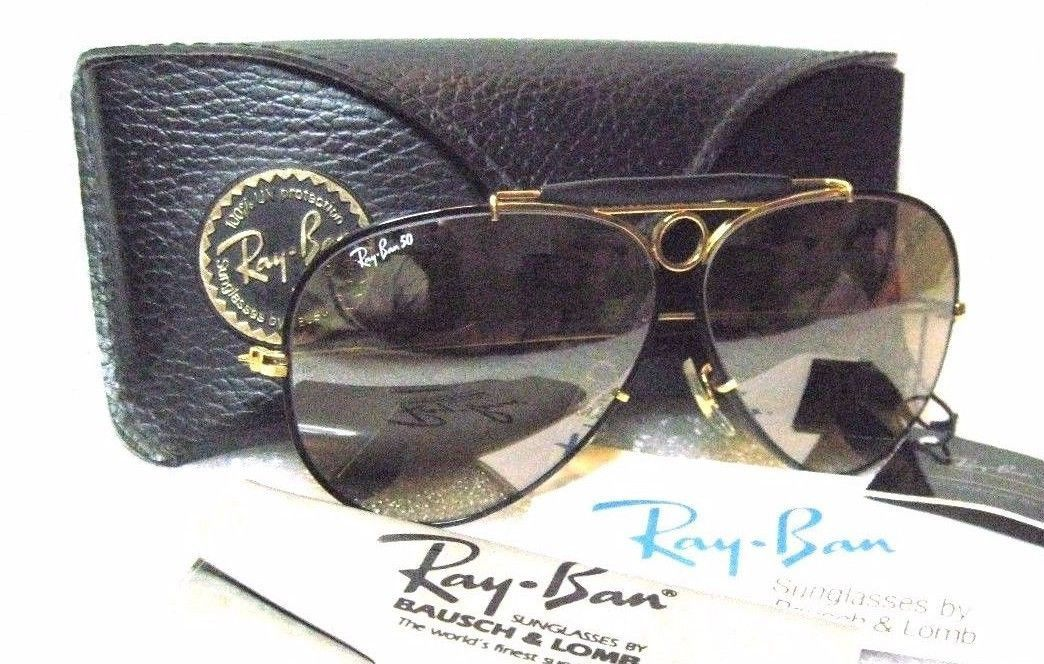 f027299a88a RAY-BAN  NOS VINTAGE B L AVIATOR