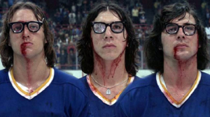 Bruce Boudreau Has Lived Old Time Hockey: his role in the classic cult-movie, Slapshot. Best. Movie. Ever. Love the Hanson Brothers!