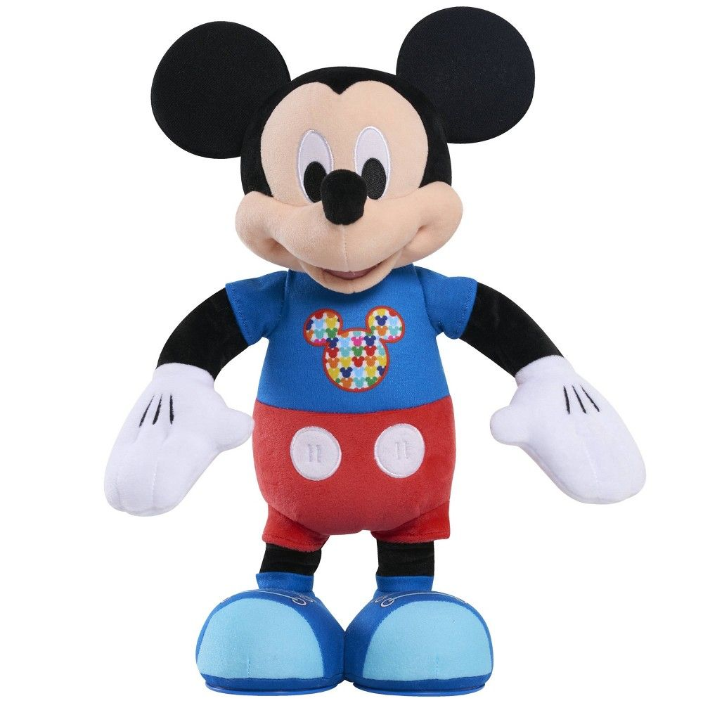 Disney Mickey Mouse Hot Diggity Remix Feature Plush Disney