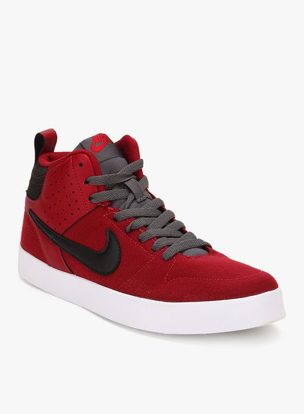 6db80d04f410f Buy Nike Liteforce Iii Mid Red Sneakers for Men Online India