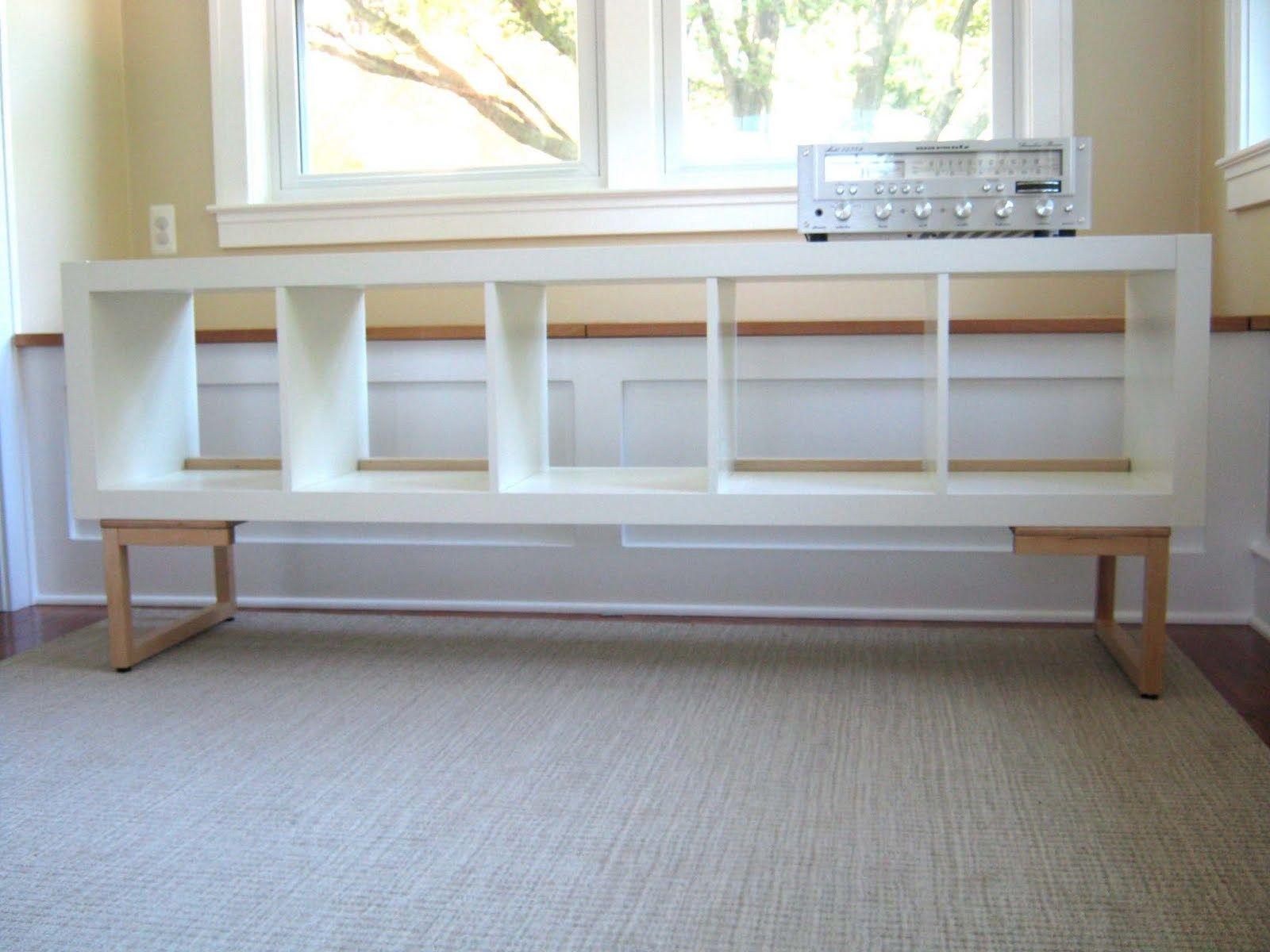 vinyl lovers storage unit and dj console ikea hacks. Black Bedroom Furniture Sets. Home Design Ideas