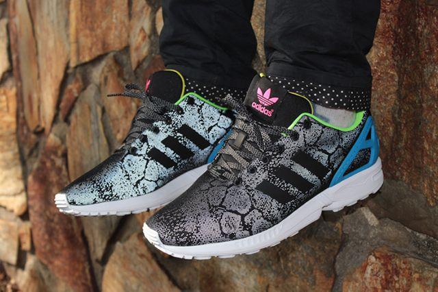 Adidas Originals Zx Flux Leopard