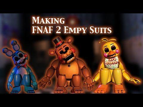 FNAF | Speed Edit) Making FNAF 2 Empty Suits (1/3) - YouTube