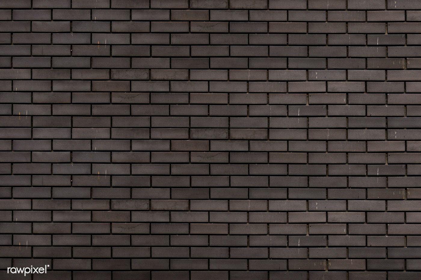 Gray Brick Wall Textured Background Free Image By Rawpixel Com Brick Wall Background Grey Brick Brick Wall