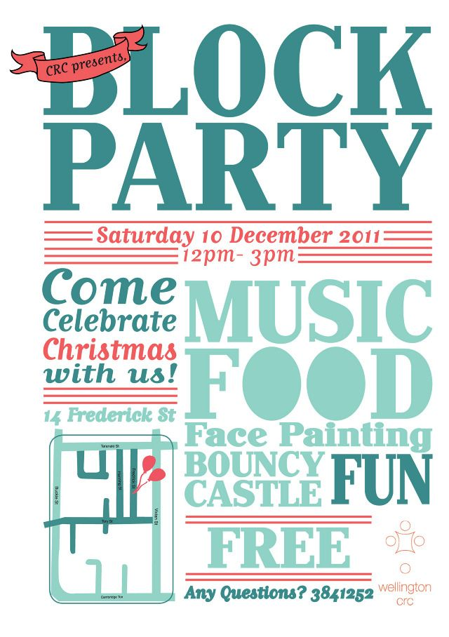 Beautiful Neighborhood Christmas Party Ideas Part - 6: CRC Block Party - Gabrielle.mcgimpsey