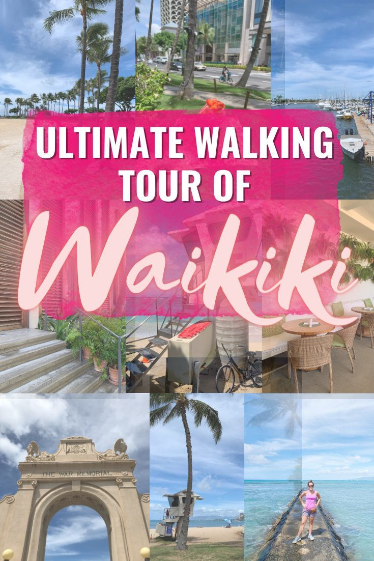 The Ultimate Walking Tour Of Waikiki | A Walking Tour Of Waikiki - Looking to discover Waikiki by foot? Here's everything you need to know for planning your walking tour of Honolulu!