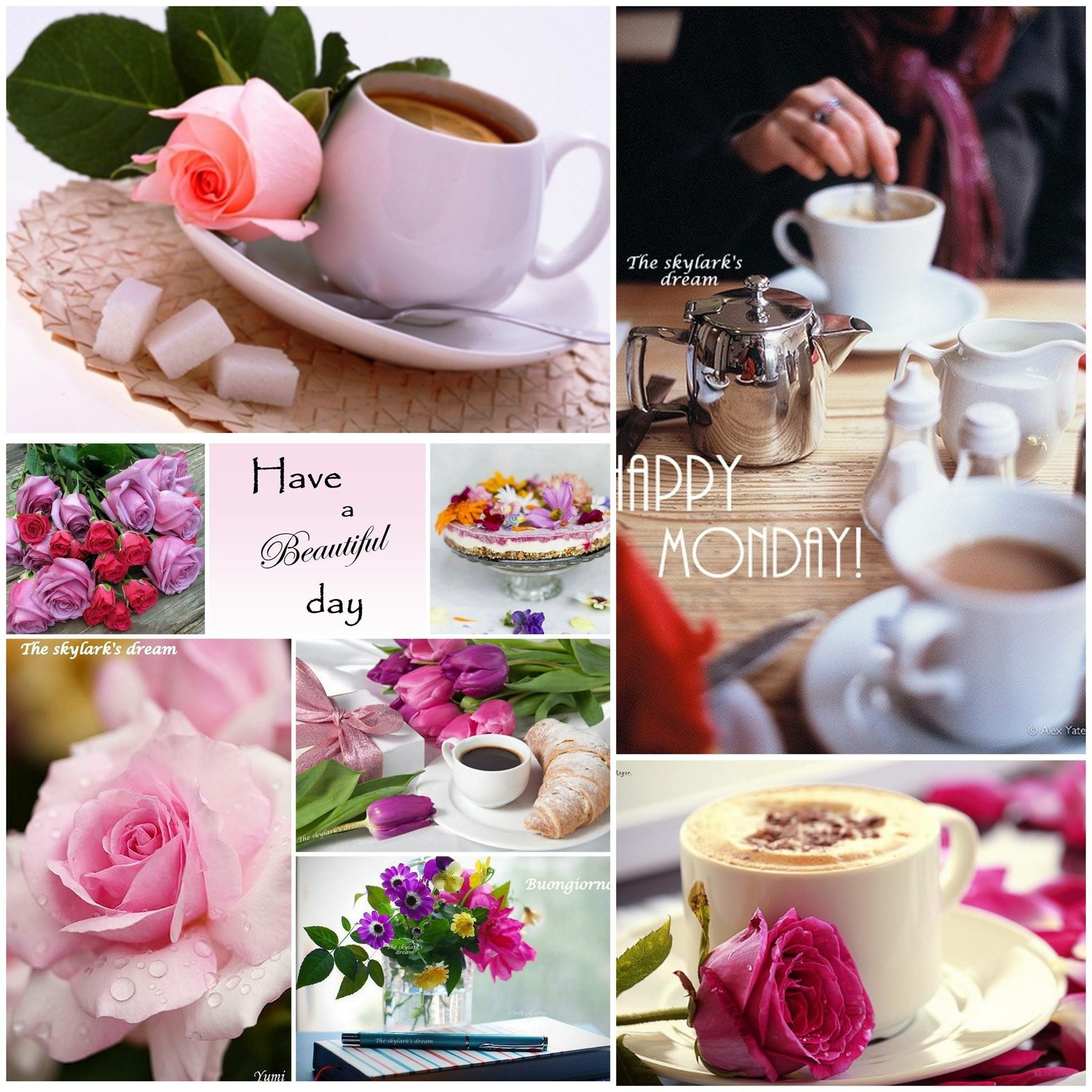 Happy Monday Good morning coffee, Beautiful day quotes