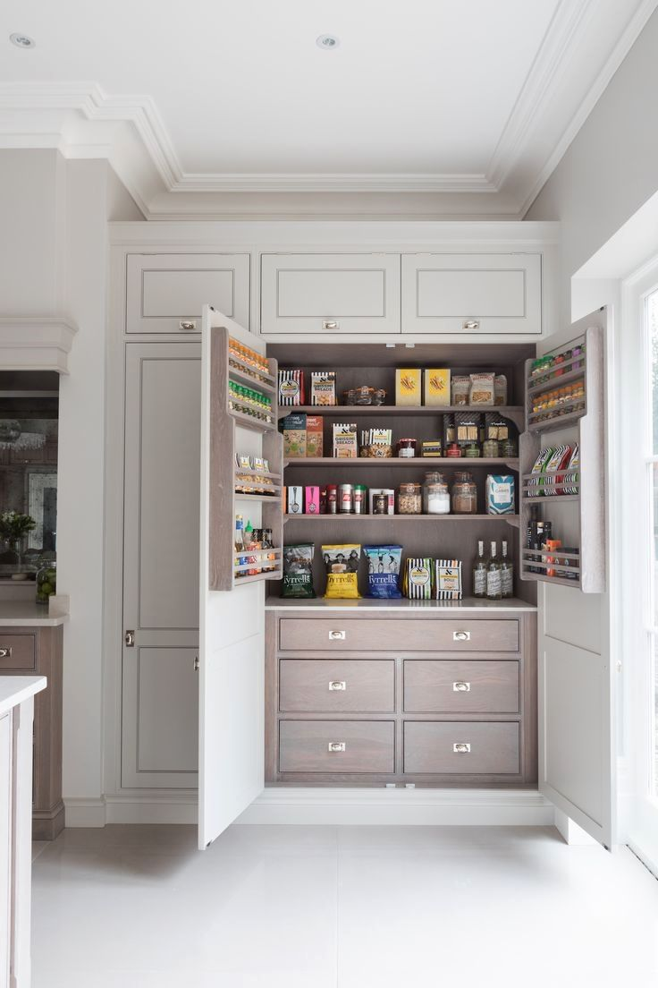 By finding inexpensive kitchen storage ideas making