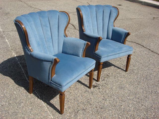 Pair of Original American Walnut Wing Back Chairs - Pair Of Original  American Walnut Wing Back. Antique ... - Antique Wing Back Chair Antique Furniture