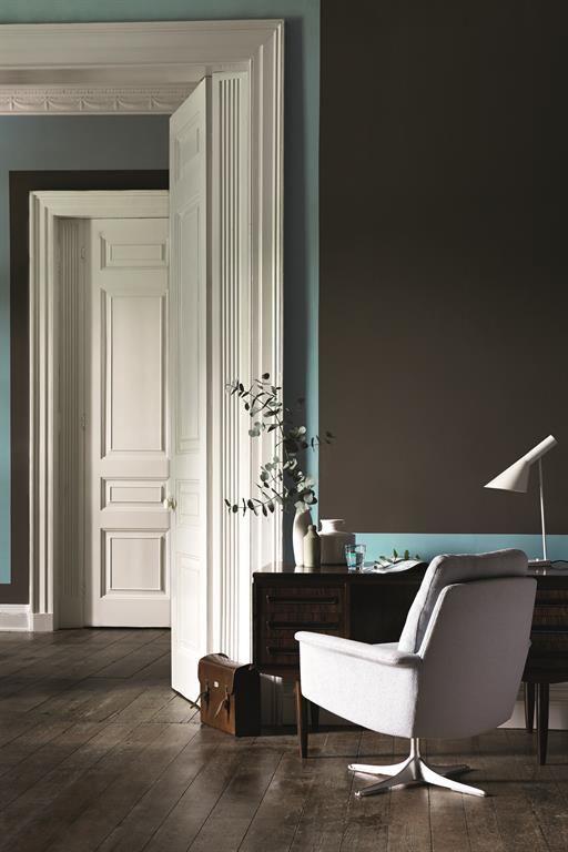 coin bureau avec mur gris fonc entr e pinterest murs gris fonc murs gris et coin bureau. Black Bedroom Furniture Sets. Home Design Ideas