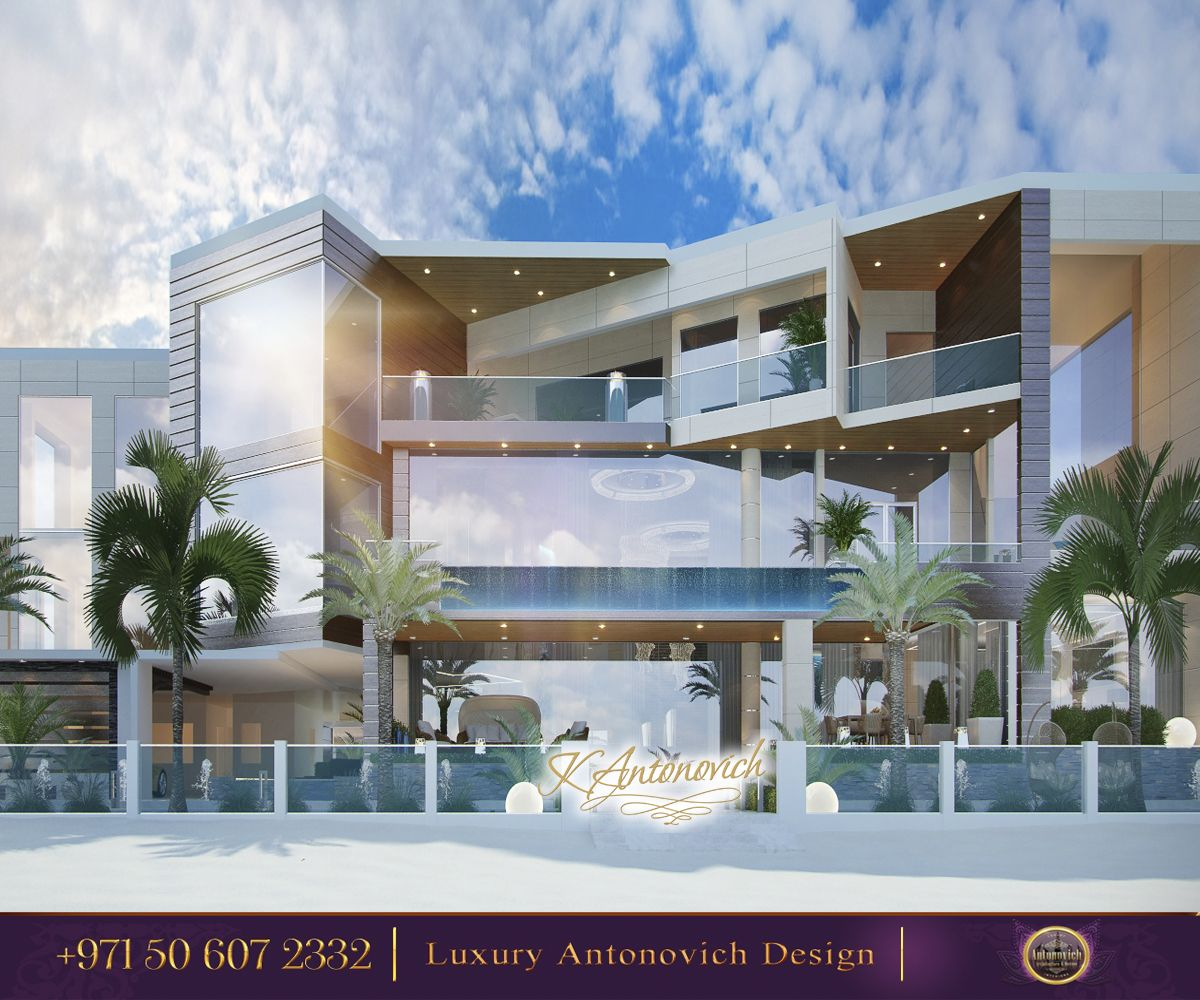 Pin by luxury antonovich design on exteriors house design